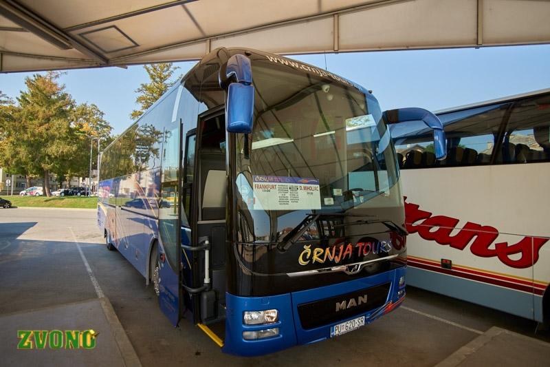 Novi Autoprijevoznik Na Bjelovarskom Autobusnom Kolodvoru U