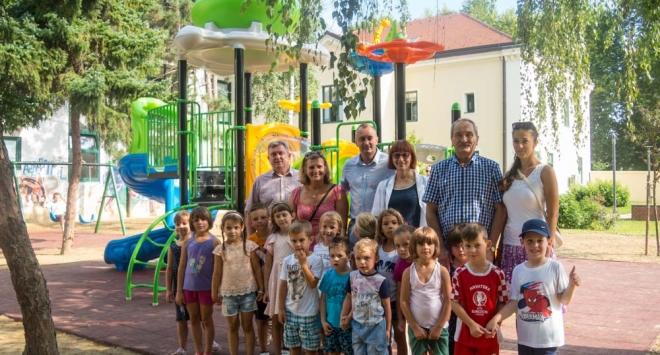 Dva igrališta za bjelovarsku djecu