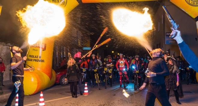 Bjelovarska Noć vještaca na dva kotača i Halloween party u Mario baru