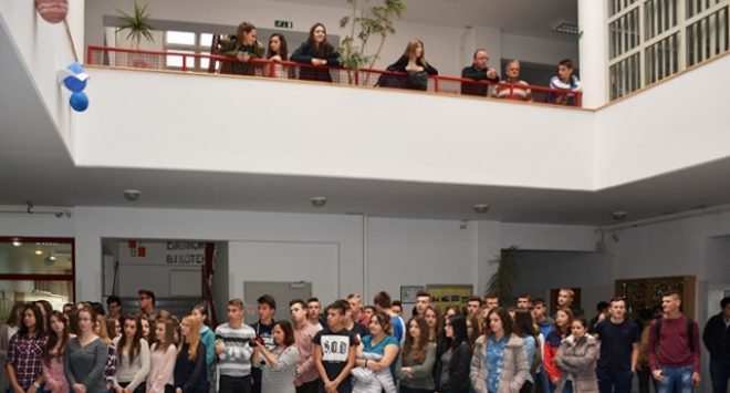 Bjelovarski srednjoškolci pisali test znanja o Domovinskom ratu