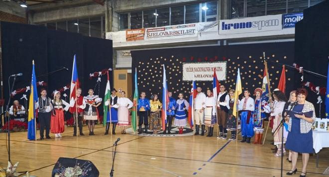 10. Večer nacionalnih manjina u Bjelovaru