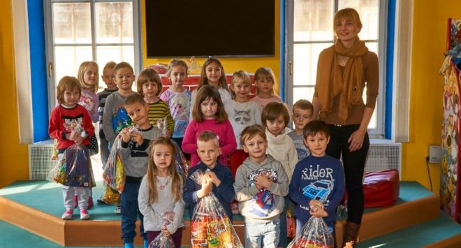 Sveti Nikola na Dječjem odjelu Narodne knjižnice Petar Preradović