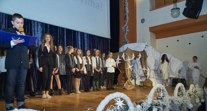 Božićna priredba I. osnovne škole Bjelovar