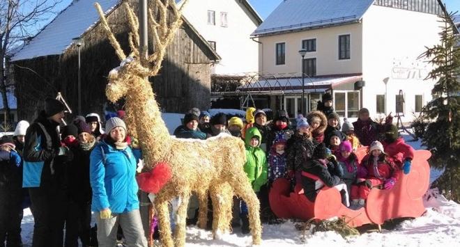 Izviđači iz Bjelovara zimovali u Fužinama