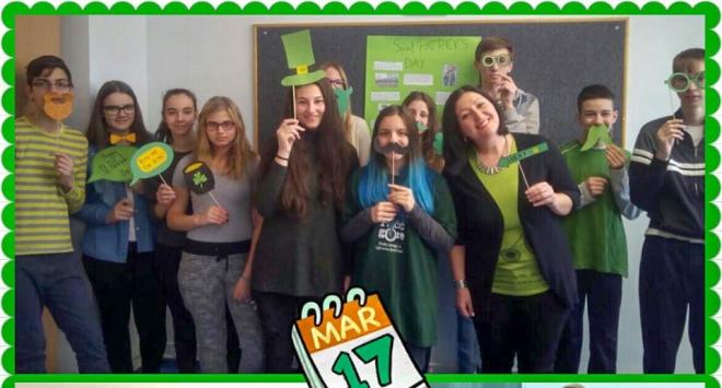 St. Patrick's Day u I. osnovnoj školi Bjelovar