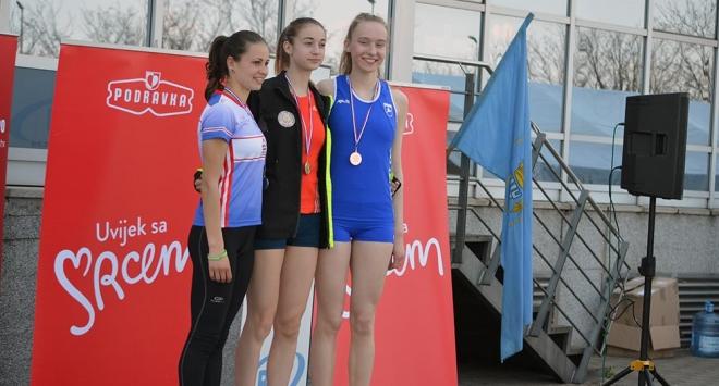 Kros otvorio atletsku sezonu, Bjelovarčankama pojedinačna i ekipna bronca