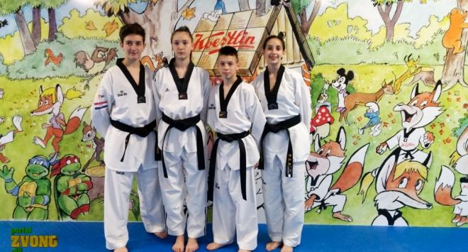 Sara, Petra, Marko i Andrea spremni za velike uspjehe