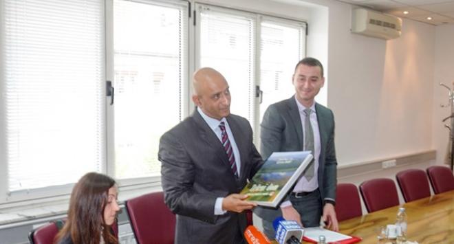 Veleposlanik Indije Sandeep Kumar posjetio Bjelovarsko-bilogorsku županiju