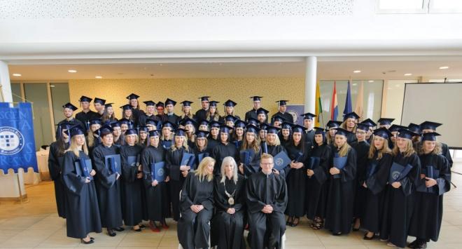 Promocija pete generacije prvostupnika Visoke tehničke škole Bjelovar