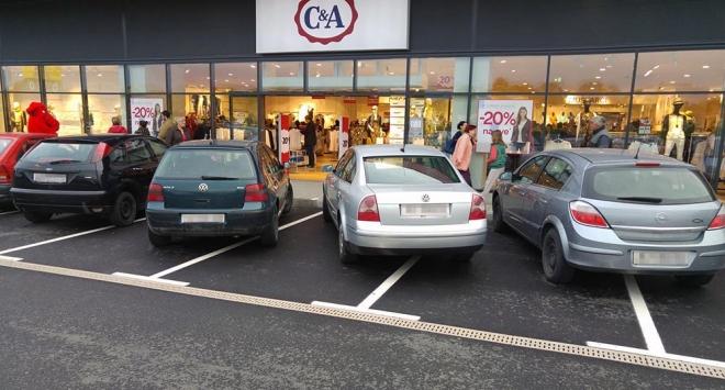 Parkiranje na bjelovarski način