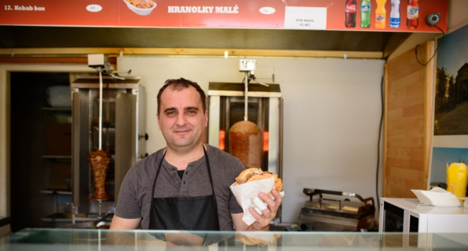Okus kebaba u Češkoj