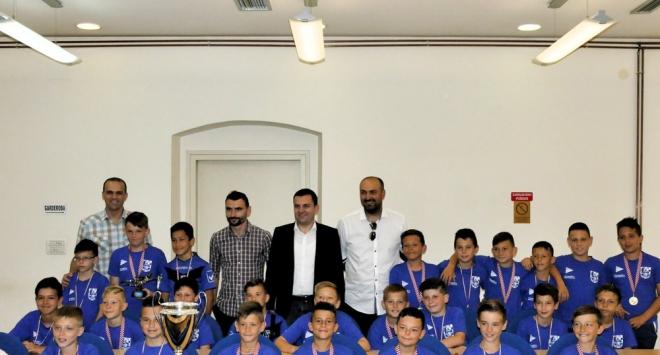 Gradonačelnik primio mlade nogometaše