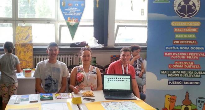 »Bijeli vitezovi« na dječjem forumu u Zagrebu
