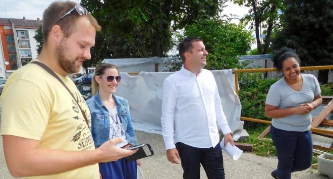 Gradonačelnik Dario Hrebak obišao radove na vrtiću u Stepinčevoj
