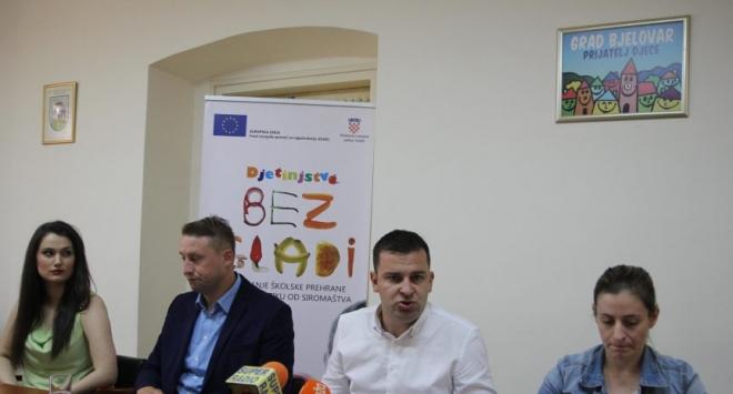 Gradonačelnik Dario Hrebak i partneri o »Djetinjstvu bez gladi«