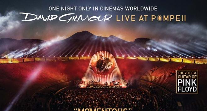 David Gilmour u Pompejima – samo jednu večer u kinima širom svijeta