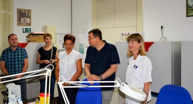 Župan obišao početak radova na rekonstrukciji laboratorija