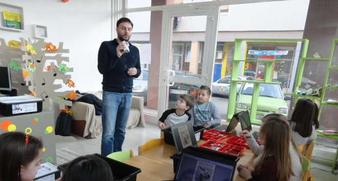Udruga Zvrk u suradnji s Gradom Bjelovarom i Ministarstvom znanosti i obrazovanja provela program za darovitu djecu