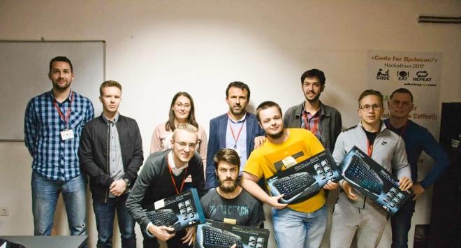 Održan prvi bjelovarski Hackathon – CODE4BJELOVAR