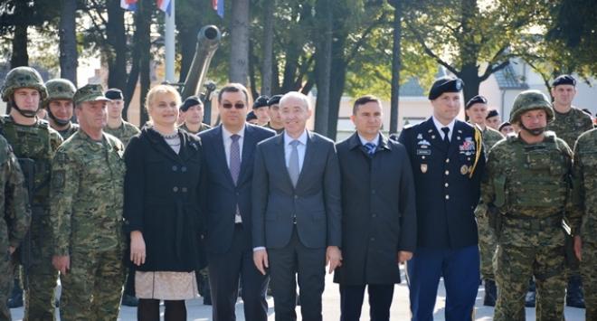Iz vojarne »Bilogora« krenuli vojnici u Poljsku