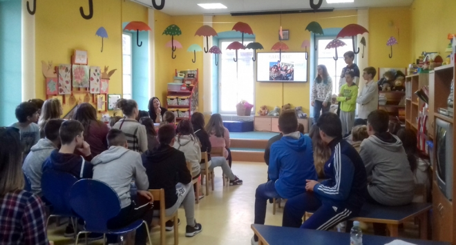 Prva osnovna predstavila u Dječjoj knjižnici projekt Erasmus+