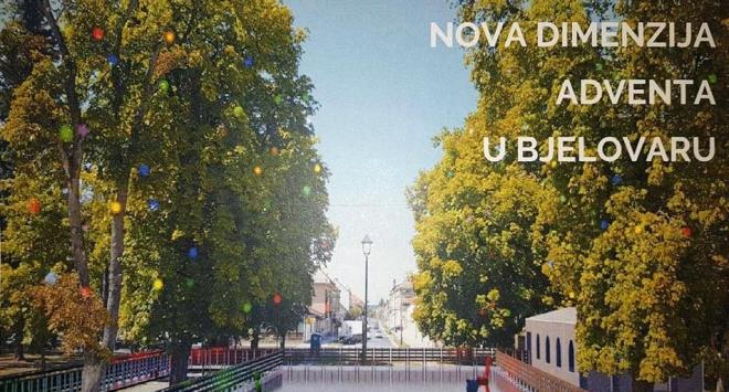 Gradonačelnik Hrebak za »Božić u Bjelovaru« najavljuje klizalište