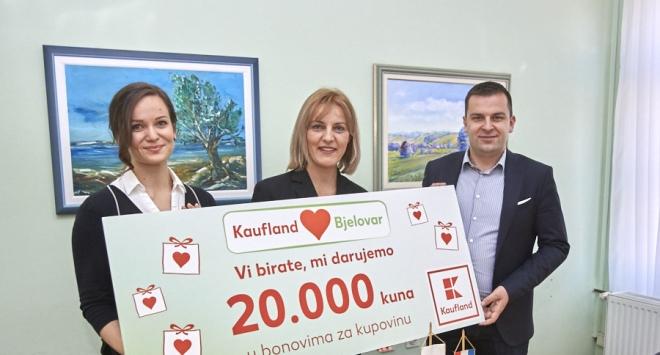 Kaufland donirao Petoj osnovnoj 20.000 kuna