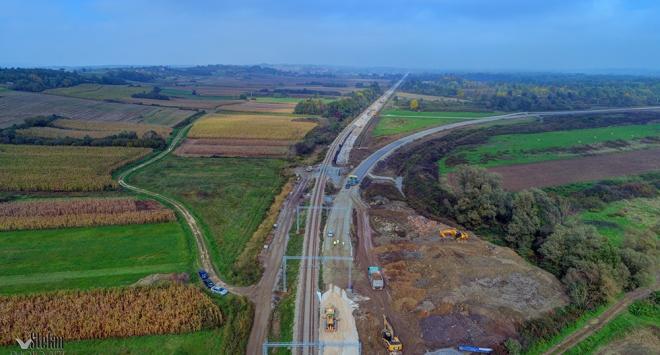 Bit će izgrađena skretnica koja spaja novu prugu s međunarodnom
