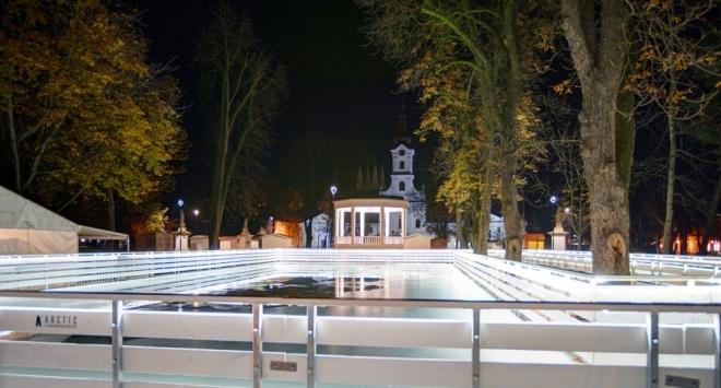 Klizalište u centru Bjelovara neće biti otvoreno sutra