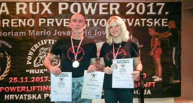 Powerlifting: Vusić i Karakaš prvi u Gospiću