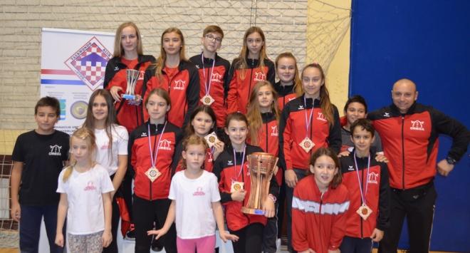 Bjelovarski borci iz Omege u Vukovaru i Zagrebu osvojili 21 medalju