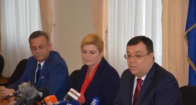 Župan Bajs s predsjednicom i koprivničko-križevačkim županom o poljoprivredi i gospodarstvu