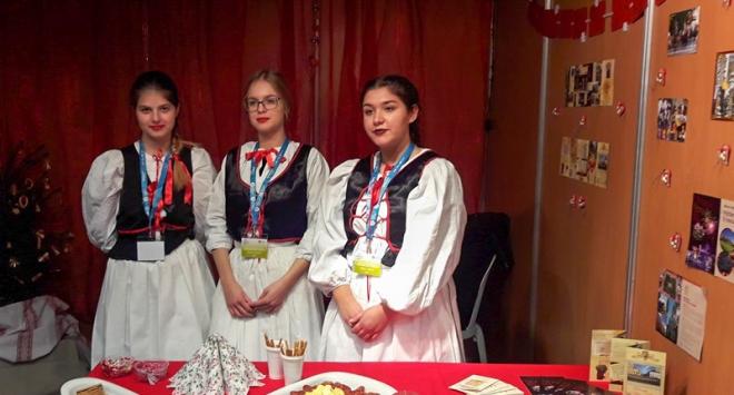Učenice iz TUPŠ-a na europskom Božiću u Portugalu