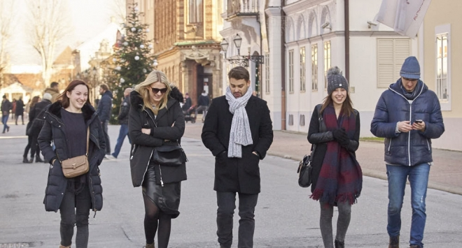 Subotnja šetnja Bjelovarom
