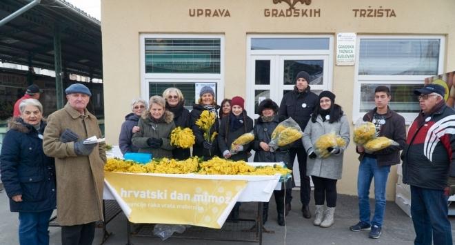 Humanitarna akcija »Cvijet mimoza« 20. siječnja