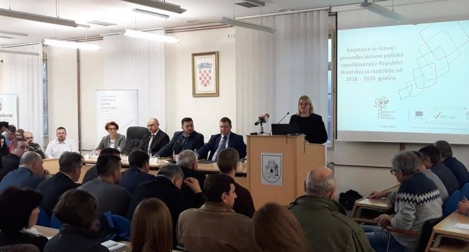 Ministar i državna tajnica s gradonačelnikom Hrebakom predstavili nove mjere zapošljavanja
