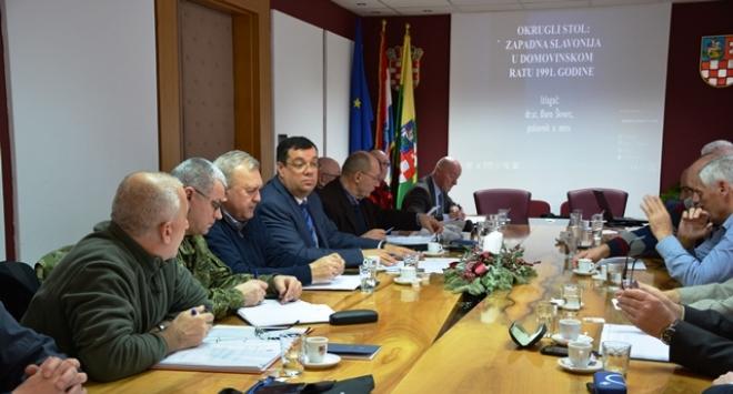 Bajs: Okrugli stol o Zapadnoj Slavoniji u Domovinskom ratu utvrdit će činjenice