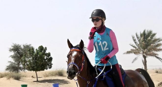 Bjelovarska jednočlana laka konjica u jurišu na Emirate
