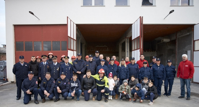 Francuski vatrogasci u Rovišću