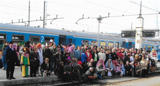 Vlak »Veseli Bjelovarac« ponovo vozi na riječki karneval