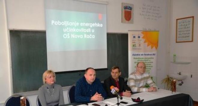 Zamjenica župana na završnoj konferenciji predstavila obnovljenu školu u Novoj Rači