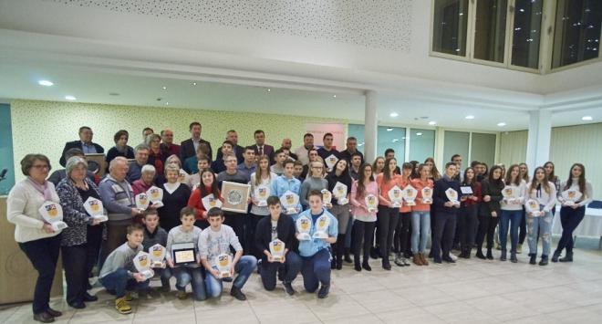 Uručena priznanja županijskim sportašima godine za 2017.