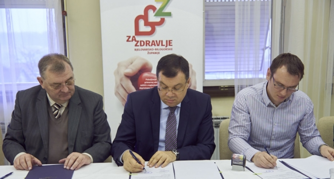 Župan Damir Bajs potpisao ugovor o obnovi čazmanskog Doma zdravlja