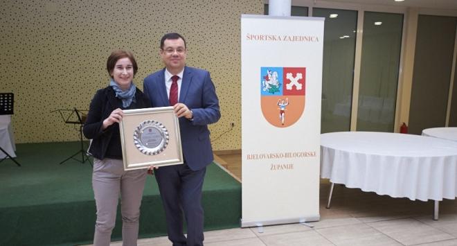 Damir Bajs dodijelio plakete zaslužnim sportašima i sportskim djelatnicima