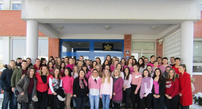 Dan ružičastih majica u Medicinskoj školi