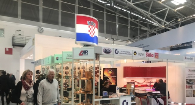 Hrvatski obrtnici na Međunarodnom obrtničkom sajmu u Münchenu IHM 2018.