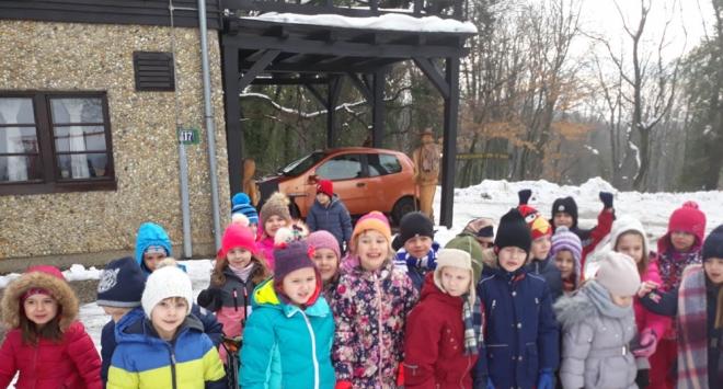 Kad djeca uživaju na snijegu