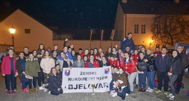 Rukometašice dovele Bjelovar na vrh hrvatskog rukometa