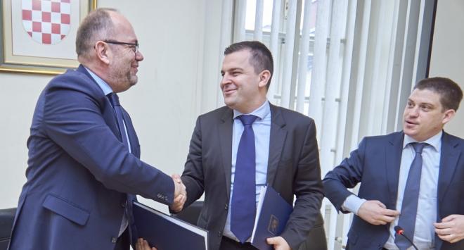 Počela izgradnja istočne obilaznice i potpisan Sporazum o rekonstrukciji prometnice prema brzoj cesti u Farkaševcu