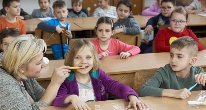 Predavanje o zubnom zdravlju u Osnovnoj školi Veliko Trojstvo